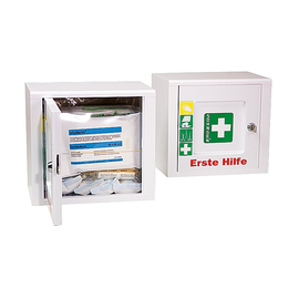 Erste-Hilfe-Verbandschrank PICCOLO 26x24x18cm weiß gefüllt nach DIN 13157 Söhngen 5001024 Produktbild