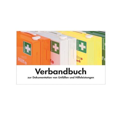 Verbandbuch Erste Hilfe DIN A5 quer kartoniert Söhngen 8001008 Produktbild Front View L