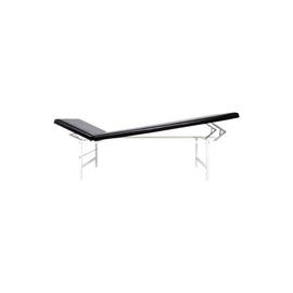Ruheraumliege Kopfteil und Fußteil verstellbar 70x50x200cm schwarz Söhngen 6001127s Produktbild