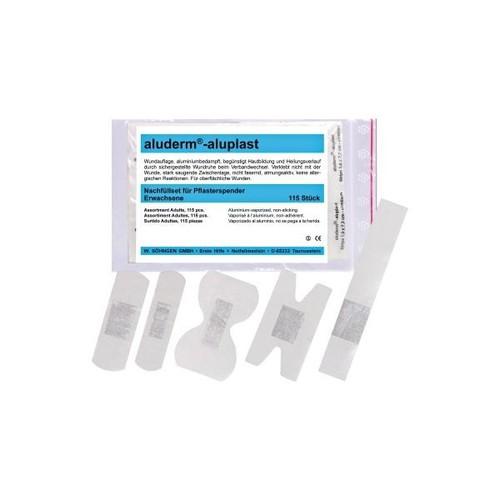 Nachfüllset für Pflasterspender Aluderm-Aluplast Söhngen 1009916 Produktbild Front View L