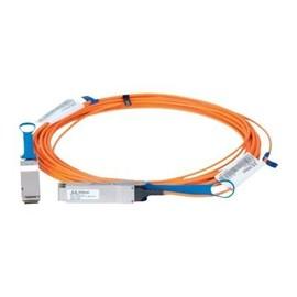 Mellanox LinkX 100Gb/s Active Optical Cables - InfiniBand-Kabel - QSFP bis QSFP - 50 m - Glasfaser - SFF-8665/IEEE Produktbild