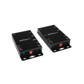 StarTech.com HDMI über Cat5 Video Extender mit RS232 und IR-Fernbedienung bis zu 100m - HDMI auf Cat5 Extender Kit Produktbild