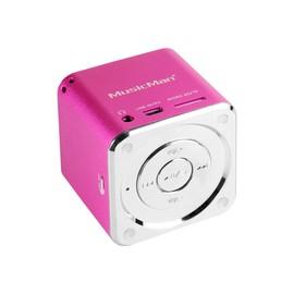 Technaxx MusicMan Mini - Digital Player - pink Produktbild