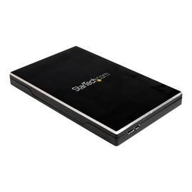"""StarTech.com 2,5"""" SATA/SSD USB 3.0 Festplattengehäuse - Schwarz - Speichergehäuse mit Netzanzeige - 2.5"""" Produktbild"""