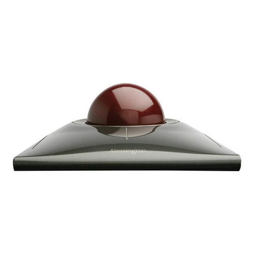 Kensington SlimBlade Trackball - Trackball - kabelgebunden - USB - Graphite, Rubinrot Produktbild Front View L