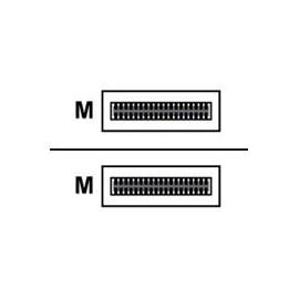 Arista - 100GBase Direktanschlusskabel - QSFP (M) bis QSFP (M) - 5 m - twinaxial Produktbild