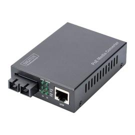 DIGITUS Professional DN-82150 - Medienkonverter - GigE - 10Base-T, 1000Base-SX, 100Base-TX, 1000Base-T - Produktbild