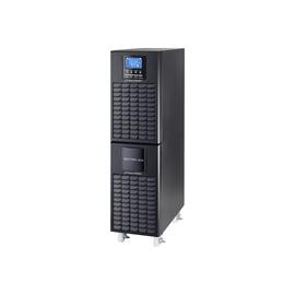 PowerWalker VFI 6000 CT LCD - USV - 5.4 kW - 6000 VA 9 Ah - RS-232, USB - Schwarz Produktbild
