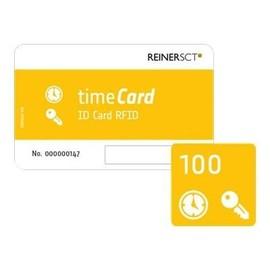 ReinerSCT timeCard ID Card RFID - RF Proximity Card (Packung mit 100) Produktbild