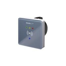 ReinerSCT timeCard - RFID-Leser - RS-485 - Grau transparent Produktbild