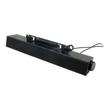 Dell AX510 Sound Bar - Lautsprecher - für PC - 10 Watt (Gesamt) - Schwarz - für Dell 1708, 19XX, P170, P2311; Produktbild Additional View 1 S
