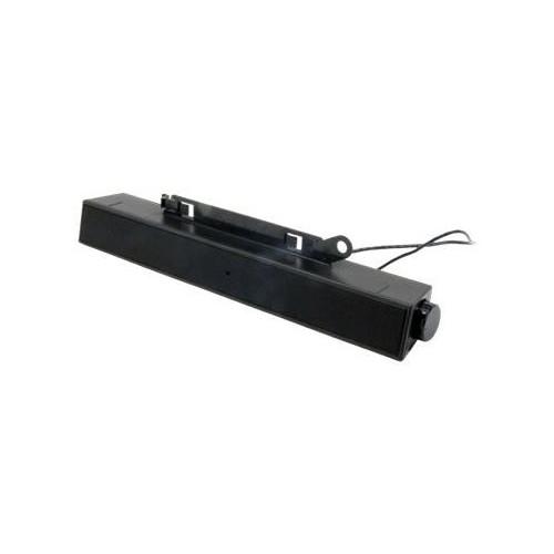 Dell AX510 Sound Bar - Lautsprecher - für PC - 10 Watt (Gesamt) - Schwarz - für Dell 1708, 19XX, P170, P2311; Produktbild Additional View 1 L