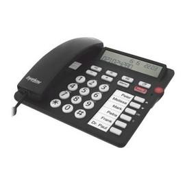 Tiptel Ergophone 1300 - Telefon mit Schnur mit Rufnummernanzeige Produktbild