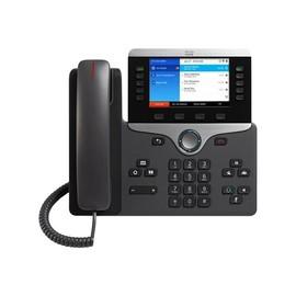 Cisco IP Phone 8861 - VoIP-Telefon - IEEE 802.11a/b/g/n/ac (Wi-Fi) - SIP, RTCP, RTP, SRTP, SDP - Anthrazit Produktbild