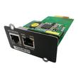 PowerWalker NMC Card - Fernverwaltungsadapter - 10/100 Ethernet - Schwarz - für PowerWalker VFI 1000, Produktbild