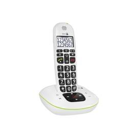 DORO PhoneEasy 115 - Schnurlostelefon - Anrufbeantworter mit Rufnummernanzeige/Anklopffunktion - Produktbild