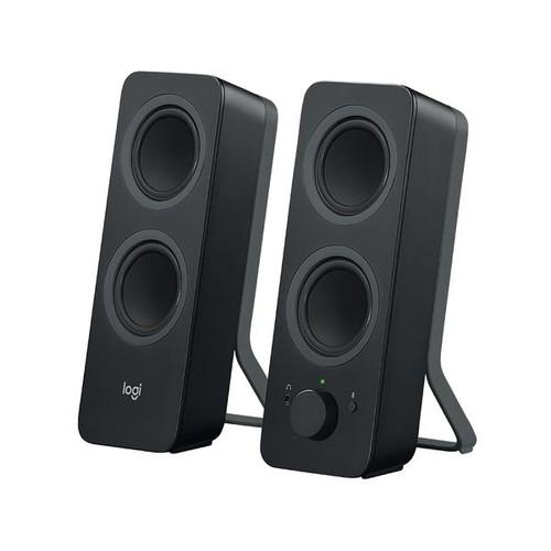 Logitech Z207 - Lautsprecher - für PC - 2.0-Kanal - kabellos - Bluetooth Produktbild Additional View 1 L