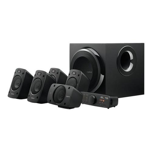 Logitech Z-906 - Lautsprechersystem - für Heimkino - 5.1-Kanal - 500 Watt (Gesamt) Produktbild Front View L