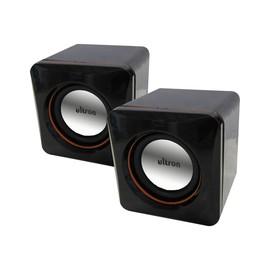 Ultron Aktivboxen minicubes 2.0 - Lautsprecher - für PC - 5 Watt (Gesamt) - Schwarz Produktbild