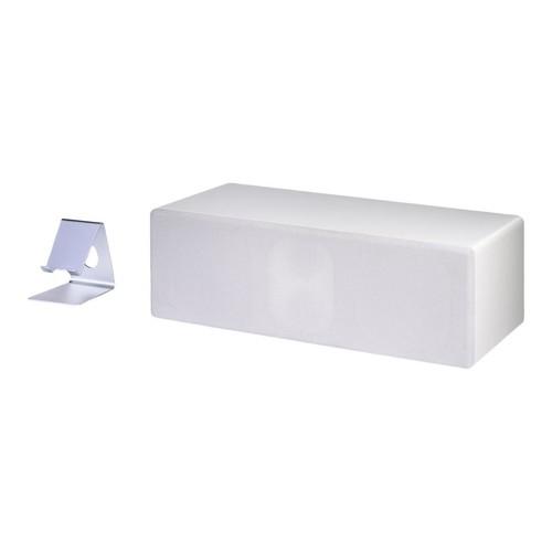 TerraTec CONCERT BT 1 - Lautsprecher - tragbar - kabellos - Bluetooth - weiß Produktbild Front View L