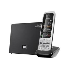 Gigaset C430A GO - Schnurloses Telefon / VoIP-Telefon - Anrufbeantworter mit Rufnummernanzeige - DECT - Schwarz Produktbild