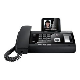 Gigaset DL500A - Schnurlostelefon - Anrufbeantworter mit Rufnummernanzeige/Anklopffunktion - Produktbild