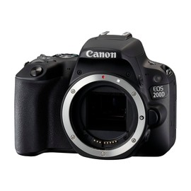 Canon EOS 200D - Digitalkamera - SLR - 24.2 MPix - APS-C - 1080p / 60 BpS Produktbild