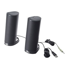 Dell AX210CR - Lautsprecher - für PC - 1.2 Watt (Gesamt) - Schwarz - für Inspiron 15 N5040, 15 N5050, 24 5459, Produktbild