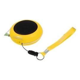 LogiLink - Lautsprecher - tragbar - 2 Watt - Gelb Produktbild