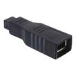 DeLOCK - IEEE 1394-Adapter - FireWire 800 (M) bis FireWire, 6-polig (W) Produktbild
