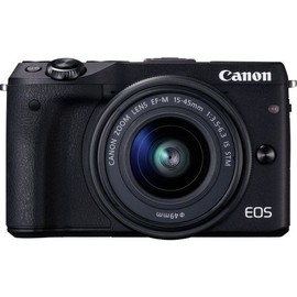 Canon EOS M3 - Digitalkamera - spiegellos - 24.2 MPix - APS-C - 1080p / 30 BpS Produktbild