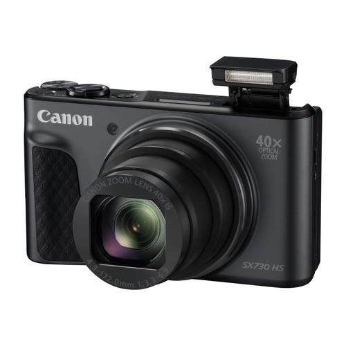 Canon PowerShot SX730 HS - Digitalkamera - Kompaktkamera - 20.3 MPix - 1080p / 60 BpS - 40x optischer Produktbild