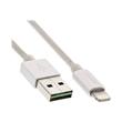 InLine - Lightning-Kabel - Lightning (M) bis USB (M) - 1 m - Silber - für Apple iPad/iPhone/iPod (Lightning) Produktbild