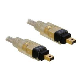DeLOCK - IEEE 1394-Kabel - FireWire, 4-polig (M) bis FireWire, 4-polig (M) - 3 m Produktbild