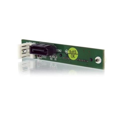 StarTech.com Slimline SATA auf SATA-Adapter mit SP4-Stromvers. - Schraubmontage - SATA-Adapter - Slimline Produktbild Additional View 1 L