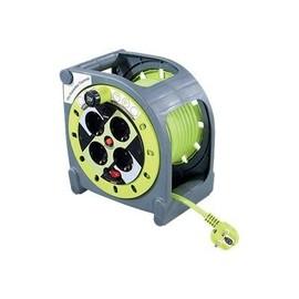 Masterplug ProXT Case Reel - Stromverteilungseinheit - Wechselstrom 125/250 V - Ausgangsbuchsen: 4 - Europa Produktbild