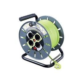 Masterplug ProXT Large Open Reel - Stromverteilungseinheit - Wechselstrom 125/250 V - Ausgangsbuchsen: 4 - Europa Produktbild