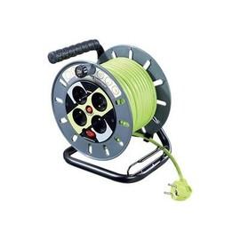 Masterplug ProXT Medium Open Reel - Stromverteilungseinheit - Wechselstrom 125/250 V - Ausgangsbuchsen: 4 - Europa Produktbild