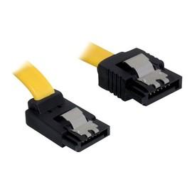DeLOCK Cable SATA - SATA-Kabel - Serial ATA 150/300 - SATA (W) bis SATA (W) - 20 cm - eingerastet, nach oben gewinkelter Produktbild