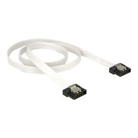 DeLOCK FLEXI - SATA-Kabel - Serial ATA 150/300/600 - SATA (W) bis SATA (W) - 50 cm - weiß Produktbild