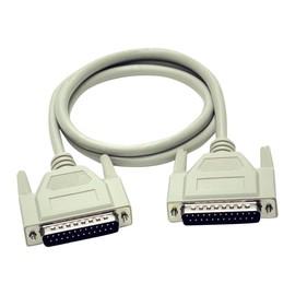 C2G - Serielles/paralleles Verlängerungskabel - DB-25 (M) bis DB-25 (W) - 3 m - geformt, Daumenschrauben Produktbild