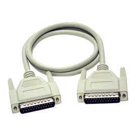 C2G - Serielles / paralleles Kabel - DB-25 (M) bis DB-25 (M) - 3 m - geformt, Daumenschrauben Produktbild