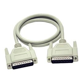 C2G - Serielles / paralleles Kabel - DB-25 (M) bis DB-25 (M) - 5 m - geformt, Daumenschrauben Produktbild
