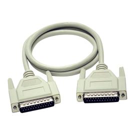 C2G - Serielles/paralleles Verlängerungskabel - DB-25 (M) bis DB-25 (W) - 5 m - geformt, Daumenschrauben Produktbild