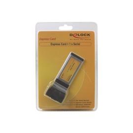DeLock Express Card to 1x serial - Serieller Adapter - ExpressCard - RS-232 Produktbild