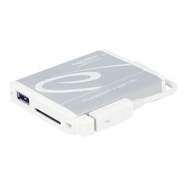 DeLOCK Thunderbolt Adapter > 1 x USB 3.0 Type-A female + SD UHS-II Card Reader - Kartenleser (MMC, SD, MMCplus, Produktbild