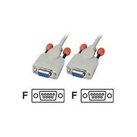 Lindy - Nullmodemkabel - DB-9 (W) bis DB-9 (W) - 10 m - geformt Produktbild