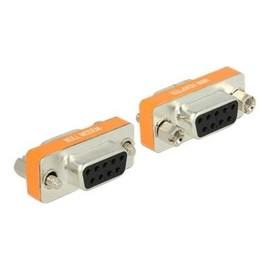 DeLOCK - Serieller Gender Changer - DB-9 (W) bis DB-9 (W) - Daumenschrauben Produktbild