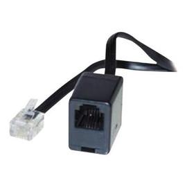S-Impuls - Telefonverlängerungskabel - RJ-11 (W) bis RJ-11 (M) - 6 m Produktbild