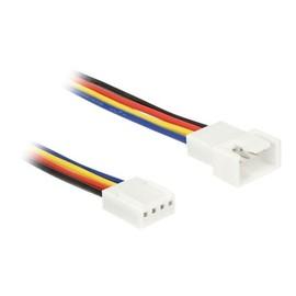 DeLOCK - Verlängerungskabel für Lüfterspannungsversorgung - 4-polig PWM (M) bis 4-polig PWM (W) - 30 cm Produktbild